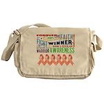 Powerful Uterine Cancer Messenger Bag