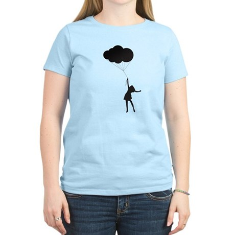 Up With the Clouds Women's Light T-Shirt