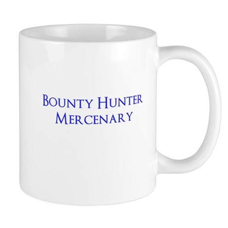 Bounty Hunter Mercenary Mug