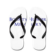 Bounty Hunter Mercenary Flip Flops