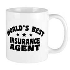 World's Best Insurance Agent Mug