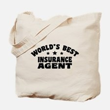 World's Best Insurance Agent Tote Bag