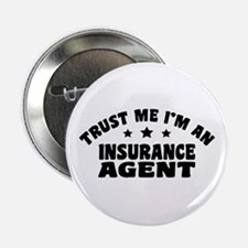 "Insurance Agent 2.25"" Button"