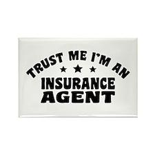 Insurance Agent Rectangle Magnet