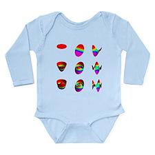 More tables Long Sleeve Infant Bodysuit