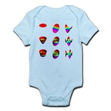 More tables Infant Bodysuit