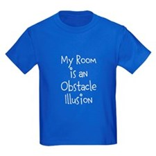 My Room is an Obstacle Illusion Kid's T