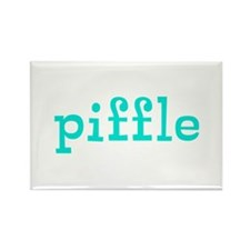 Piffle Rectangle Magnet