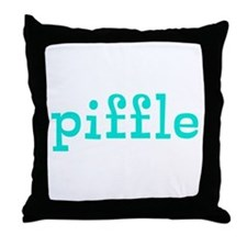 Piffle Throw Pillow