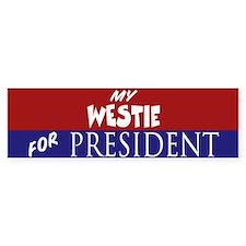 Westie Bumper Bumper Sticker