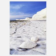 Cloud over chalk cliffs, Seven sisters, Birling Ga