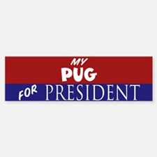 Pug Sticker (Bumper)