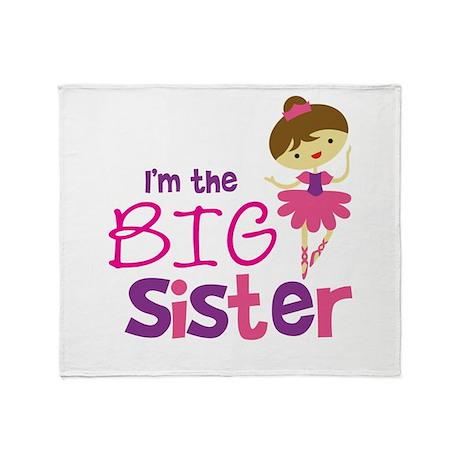 Dance Big Sister Throw Blanket