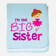 Dance Big Sister baby blanket