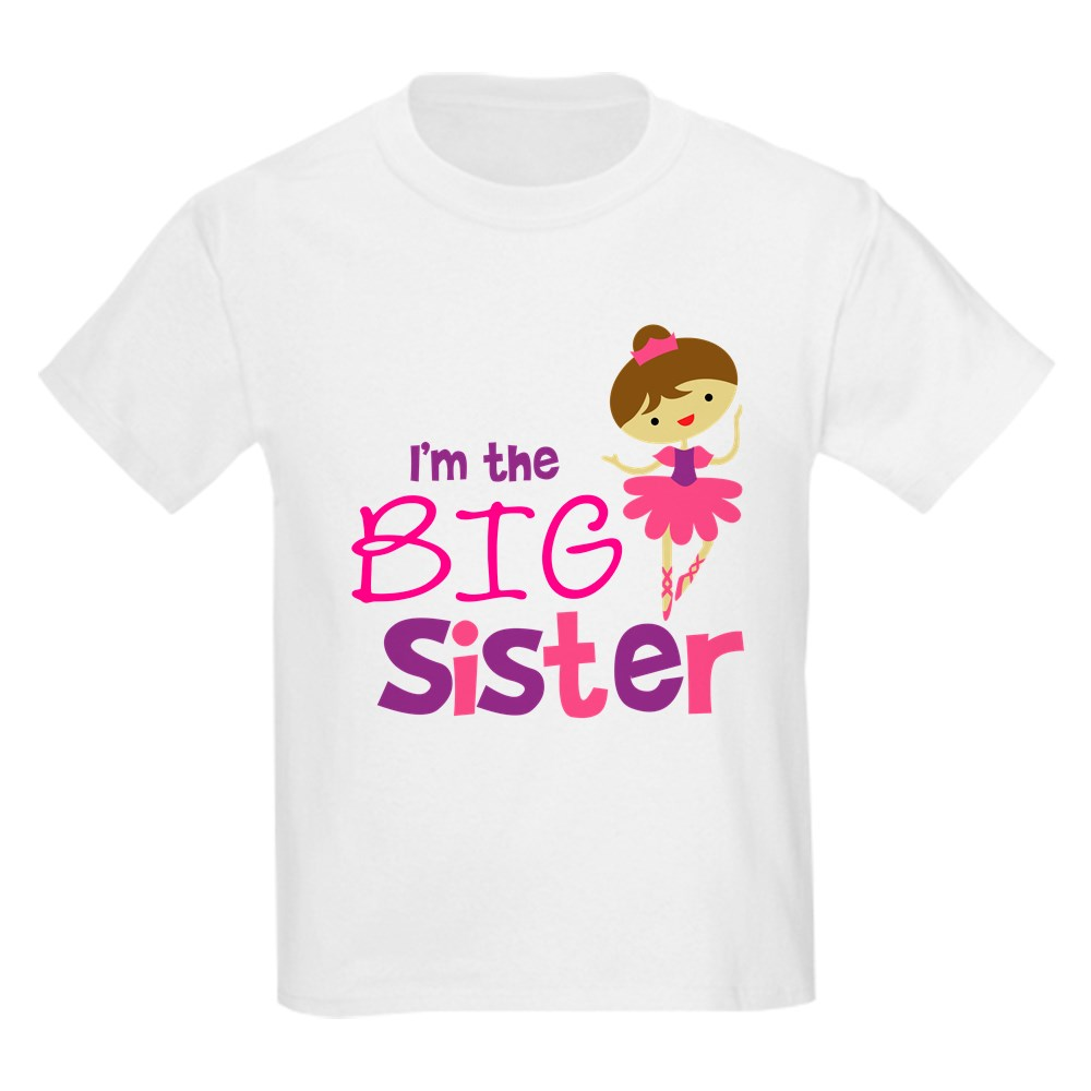 CafePress Dance Big Sister Kids Light T-Shirt