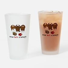 Nothin' Butt St Bernards Drinking Glass