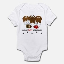 Nothin' Butt St Bernards Infant Bodysuit