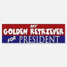 Golden Retriever Sticker (Bumper)