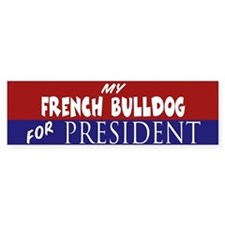 French Bulldog Bumper Stickers