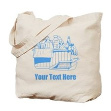 Cleaning things. With Text. Tote Bag