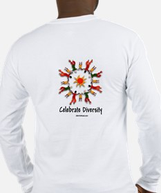 Celebrate Diversity P Lng Sleeve T-Shirt