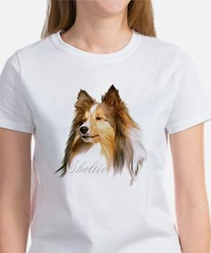 Sheltie Head-Retro Tee