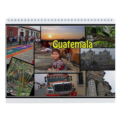 Guatemala Wall Calendar