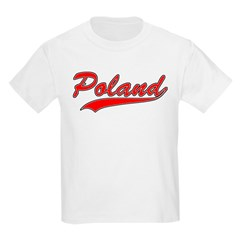 Retro Poland Kids T-Shirt
