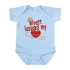 Wyatt Lassoed My Heart Infant Bodysuit