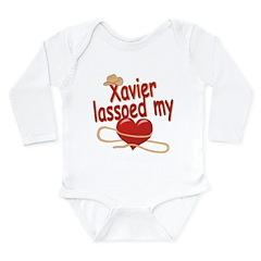 Xavier Lassoed My Heart Long Sleeve Infant Bodysui