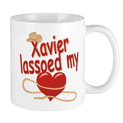 Xavier Lassoed My Heart Mug
