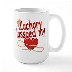 Zachary Lassoed My Heart Mug
