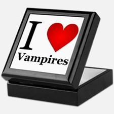 I Love Vampires Keepsake Box