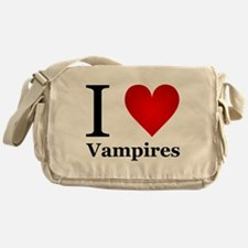 I Love Vampires Messenger Bag