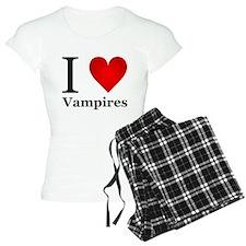 I Love Vampires Pajamas