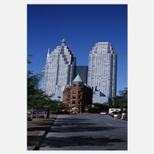 Buildings in a city, Flatiron Building, Toronto, O