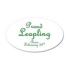 Proud Leapling 38.5 x 24.5 Oval Wall Peel