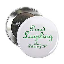 """Proud Leapling 2.25"""" Button"""