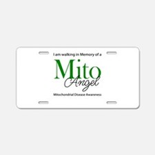 Mito Angel Aluminum License Plate