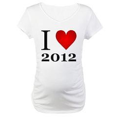 I Love 2012 Shirt