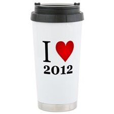 I Love 2012 Travel Mug