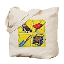 Gardening Tools. Tote Bag