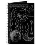 Leonardo Journal in Black
