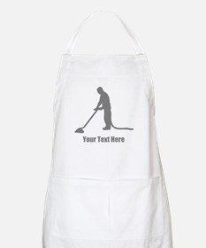 Vacuum Cleaning. Your Text. Apron