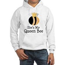 She's My Queen Bee Couples Jumper Hoody