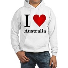 I Love Australia Jumper Hoody