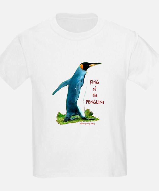King of the Penguins for White T-shirt T-Shirt