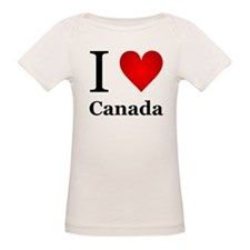 I Love Canada Tee