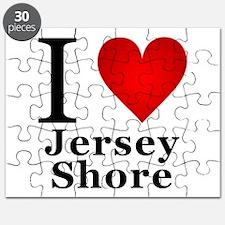 I Love Jersey Shore Puzzle