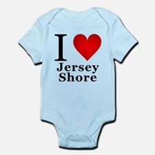 I Love Jersey Shore Infant Bodysuit